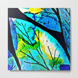 The time to bloom in flowers and colors. Celebrating the blossoming of life Metal Print
