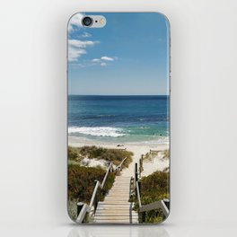 Wooden Path Over Sand Dunes to a Western Australia Beach iPhone Skin