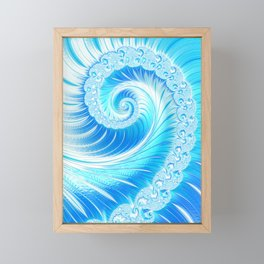 Frozen Vortex Framed Mini Art Print