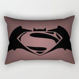 BvS Dawn Of Justice - RED Rectangular Pillow