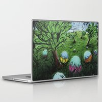 eggs Laptop & iPad Skins featuring Eggs by chris panila