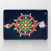 chakra iPad Cases featuring Muladhara Chakra by DiskoGalerie
