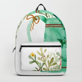 Open a Can of Flowers Backpack