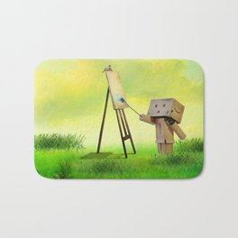 Danbo the artist Bath Mat