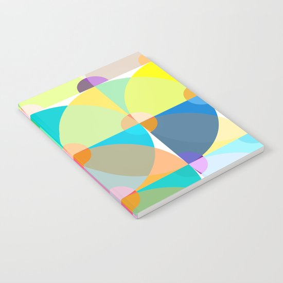 pastel circles Notebook