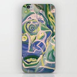 Alien Acrobat iPhone Skin