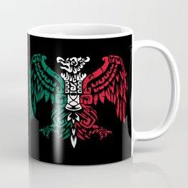 Aztec Eagle Warrior - Aztec Eagle Knight - Mexican Roots Coffee Mug