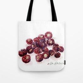 Backyard Berries Tote Bag