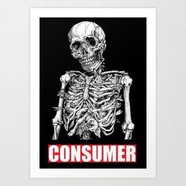 CONSUMER 4 Art Print
