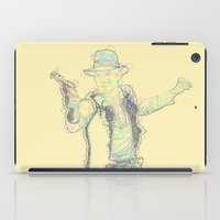 indiana jones iPad Cases featuring Indiana Solo TC by Parissis