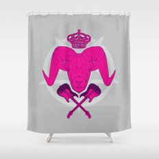 Metal God Shower Curtain