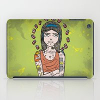 simpson iPad Cases featuring Saint Simpson by A+A Noisome Art