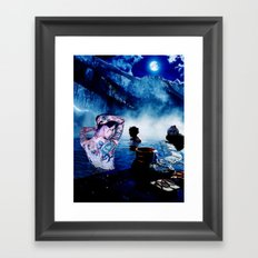 Onsen Framed Art Print