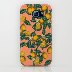Lemon and Leaf Slim Case Galaxy S8