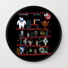 The Real Donkey Puft Wall Clock
