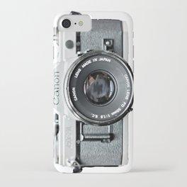 Vintage Camera Phone iPhone Case