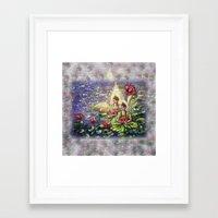 buddha Framed Art Prints featuring Buddha  by Harsh Malik