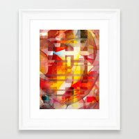 leonardo Framed Art Prints featuring Leonardo by Jose Luis