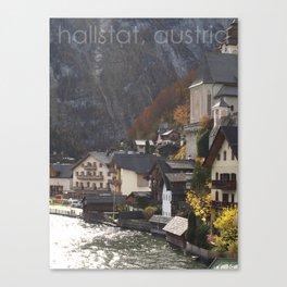 hallstat, austria Canvas Print