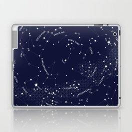 Constellation Map - Indigo Laptop & iPad Skin