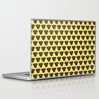 polkadot Laptop & iPad Skins featuring Terrier Polkadot by Luke Clark