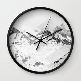Perito Moreno SW Scattered Landscapes Wall Clock