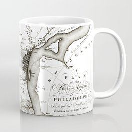 Philadelphia - Pennsylvania  -United States - 1777 Coffee Mug