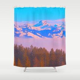 1960s Landscape XIX Shower Curtain