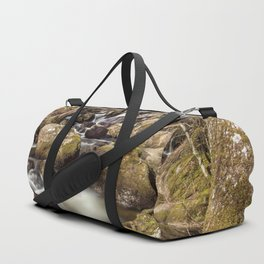 Becky Falls in Spring Duffle Bag