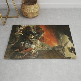 Karl Briullov - Last Day of Pompeii Rug