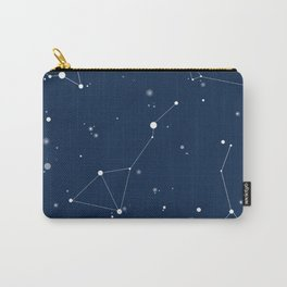 Navy Night Sky Carry-All Pouch
