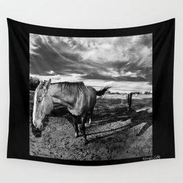 Farm Horse Wall Tapestry