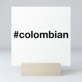 COLOMBIA Mini Art Print