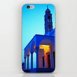 Pyrgos church iPhone Skin