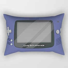 Gameboy Advance - Indigo Rectangular Pillow