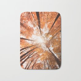low angle view of a tree  Bath Mat