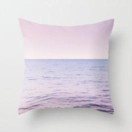 Blissful Ocean Dream #2 #pastel #wall #decor #art #society6 Throw Pillow