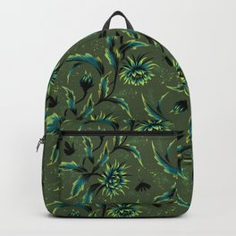 Queen of the Night - Green Backpack
