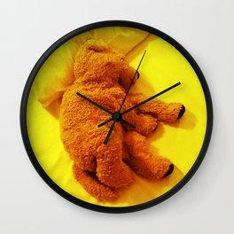 Love is... Teddy dog Wall Clock