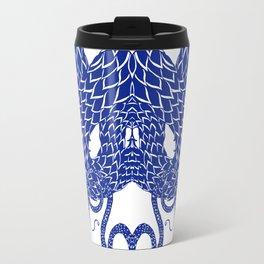 Blue Double Travel Mug