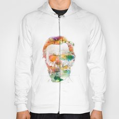 Abraham (Abe) Lincoln Skull Watercolor Hoody