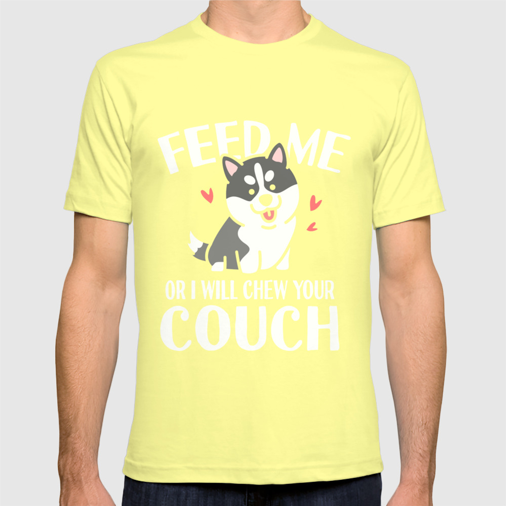 dog sofa sarcasm funny sayings animals gift T-shirt