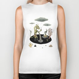 Shifting Tide Pool Biker Tank