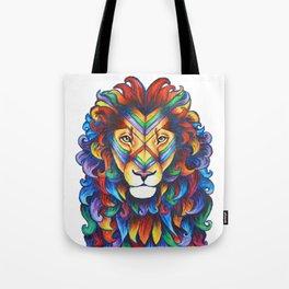 Mufasa in Technicolour Tote Bag