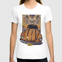 woodstock T-shirts featuring VW ~Bug power by Bruce Stanfield
