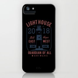 light house guardiam of all mariners iPhone Case