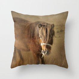 Wanna Be Friends? Throw Pillow