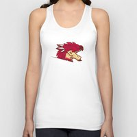 monster hunter Tank Tops featuring Monster Hunter All Stars - The Minegarde Blazers by Bleached ink