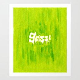 Gross! Art Print
