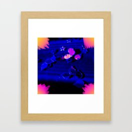 A night in the life... Framed Art Print